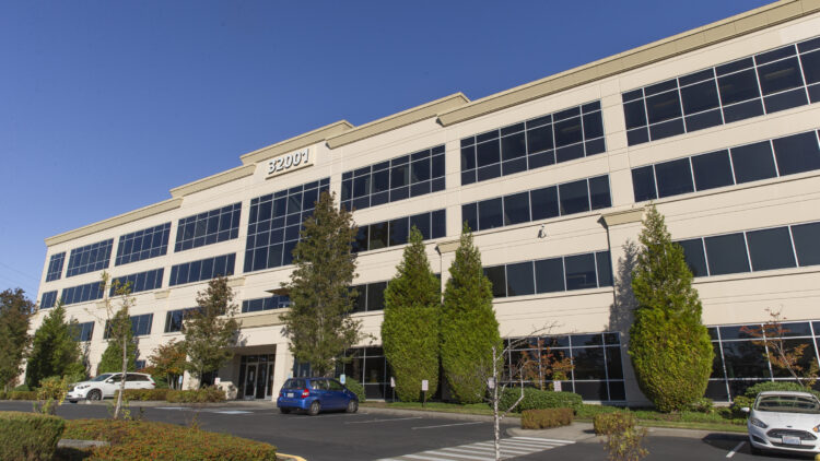 East Campus Business Park - Federal Way - Front Exterior - Sterling Realty Organization