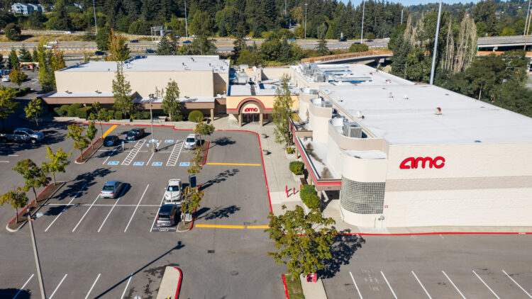 Factoria Cinema - Aerial View - Sterling Realty Organization