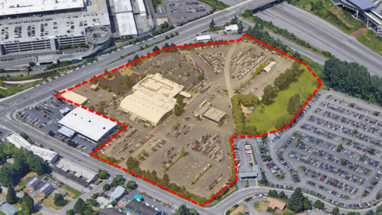 Lewis & Clark Property Map - Tukwila WA - Sterling Realty Organization