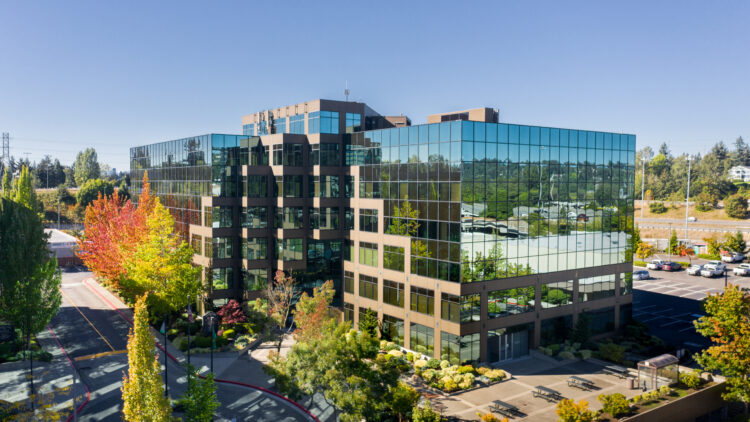 Sterling Plaza 1 - Aerial Side View - Sterling Realty Organization
