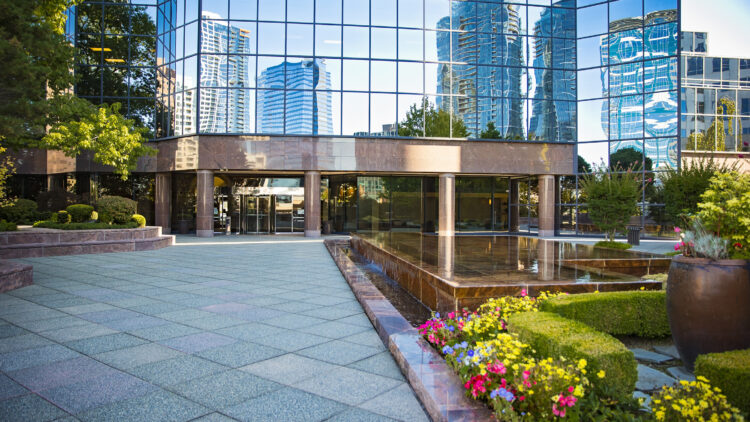 Symetra Center - Front Entrance - Sterling Realty Organization