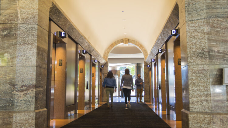 Symetra Center - Hallway - Office Building - Sterling Realty Organization