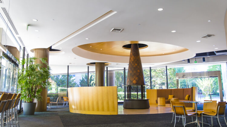 Symetra Center Lobby - Class A Office Space For Lease - Sterling Realty Organization