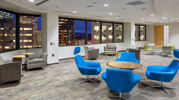 Symetra Center - Office Meeting Area - Sterling Realty Organizat