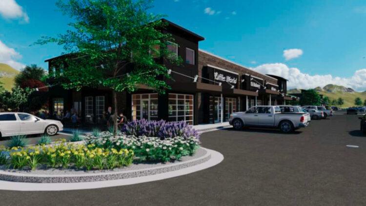 Towne Ridge Retail - Parking Lot Exterior - Sterling Realty Organization