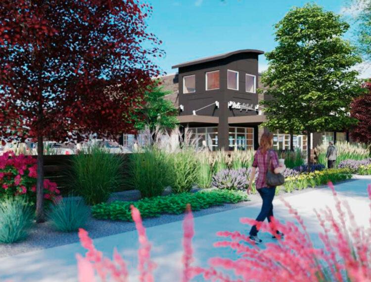 Towne Ridge Retail - Sidewalk View - Sterling Realty Organization
