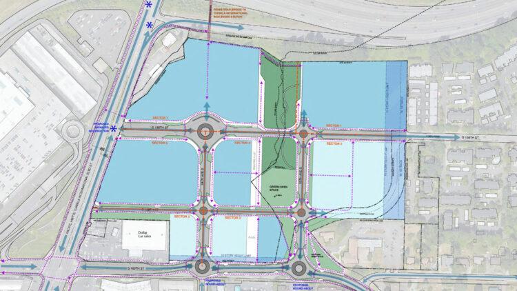 Tukwila - Site Plan - Sterling Realty Organization